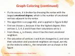 graph coloring continued7