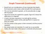 graph traversals continued3