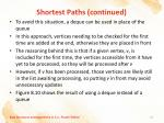 shortest paths continued11