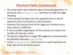 shortest paths continued8