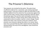 the prisoner s dilemma