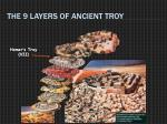 the 9 layers of ancient troy