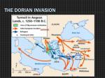 the dorian invasion