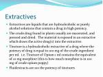 extractives
