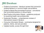 jbi database