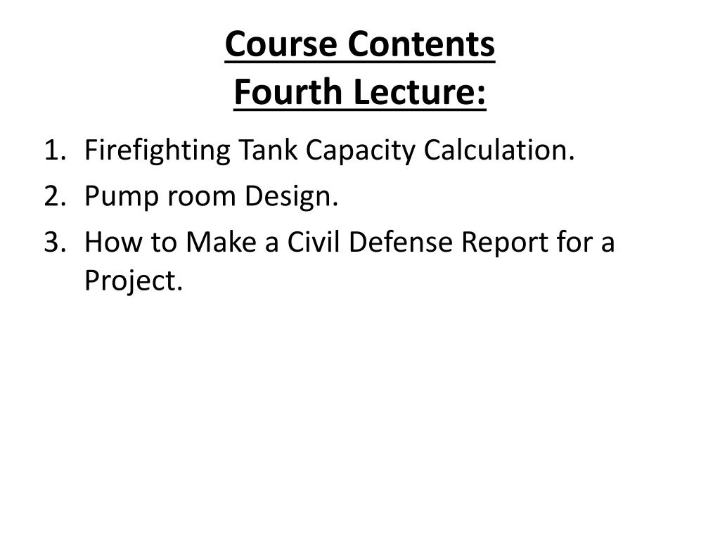 PPT - FIRE FIGHTING COURSE PowerPoint Presentation - ID:2226071