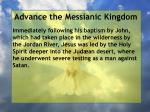 advance the messianic kingdom2