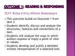 outcome 1 reading responding1