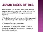 advantages of dlc