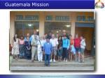 guatemala mission