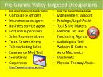 rio grande valley targeted occupations