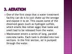 3 aeration
