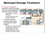 municipal sewage treatment1