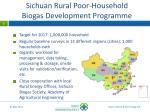sichuan rural poor household biogas development programme1