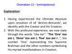 chamakam 11 omnipotence