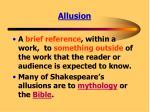allusion