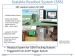 scalable readout system srs