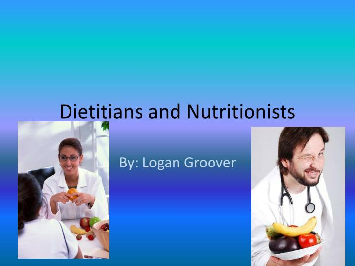 dietitians and nutritionists n.