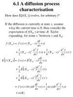 6 1 a diffusion process characterisation1