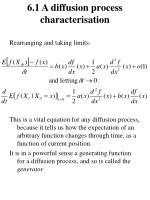 6 1 a diffusion process characterisation2