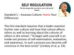 self regulation be the change that you wish to see in the world ghandi