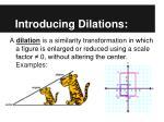 introducing dilations2