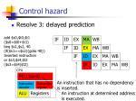 control hazard13