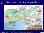 distributed sensing applications