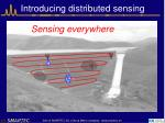 introducing distributed sensing