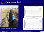 response test