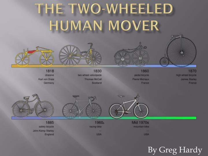 the two wheeled human mover n.