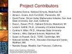 project contributors
