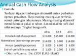 annual cash flow analysis2