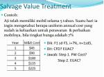salvage value treatment2