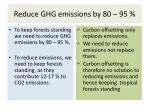reduce ghg emissions by 80 95
