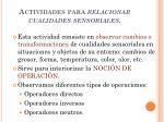 actividades para relacionar cualidades sensoriales1