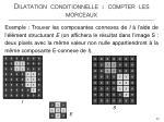 dilatation conditionnelle compter les morceaux4