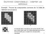 dilatation conditionnelle compter les morceaux8