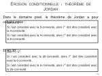 erosion conditionnelle th or me de jordan4