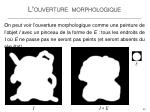 l ouverture morphologique4
