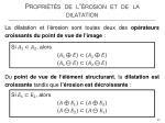 propri t s de l rosion et de la dilatation5