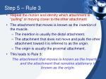 step 5 rule 3