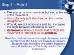 step 7 rule 4