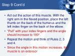 step 9 cont d