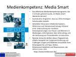 medienkompetenz media smart
