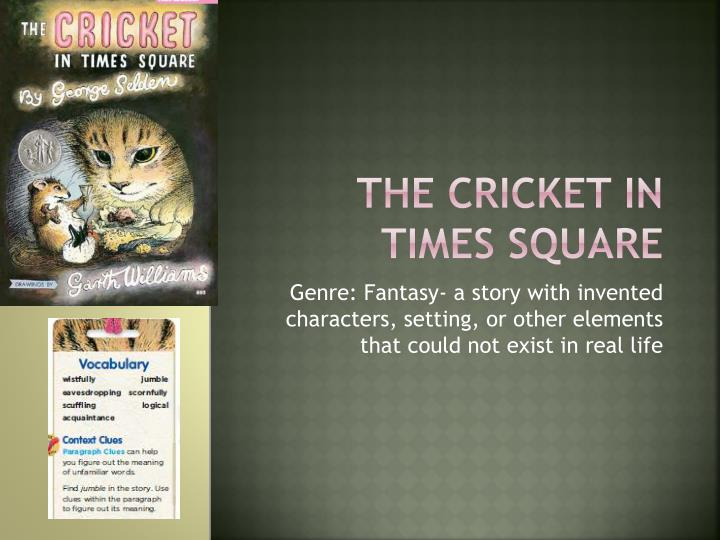 the cricket in times square n.