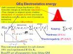 qeq electrostatics energy