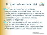 el papel de la sociedad civil2