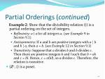 partial orderings continued1