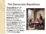 the democratic republicans